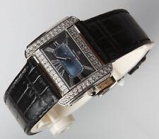 Techno Mania Diamond Stainless Steel Watch 1 Carat!