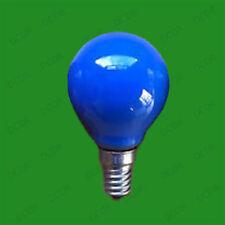 Bombillas de interior de color principal azul casquillo E14