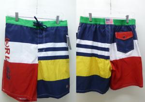 New Ralph Lauren Polo RL-93 boardies swim trunks board Shorts lined mens Medium