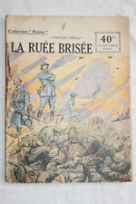 COLLECTION PATRIE N°119 LA RUEE BRISEE 1919 OSWALD ILLUSTRE