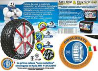 EASY GRIP CHAÎNES À NEIGE H12 185/65-14 185/70-14 195/60-14