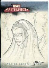 Marvel Masterpieces 2007 Sketch Card By Franz Garcia