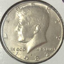 1982 P ~ USA ~ KENNEDY HALF DOLLAR
