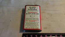 Empty Superfine Black Rifle Powder Tin