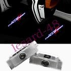 2x Challenger Logo LED Car Door Ghost Laser Projector Light For Dodge Challenger