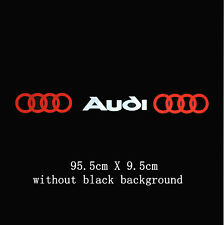 Amazing  Windscreen Windshield Car Sticker Decal For Audi (no background)