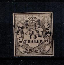 Briefmarken Altdeutschland Oldenburg 3 II  gestempelt