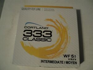 1- BOX CORTLAND 333 CLASSIC WF-5-I  FLY LINE (NIP)( ONLY 2 LEFT)