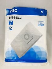 2 Piece Bissell Vacuum Cleaner Bags Style 1/4 7 Allergen Media