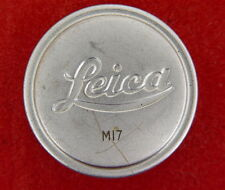 "Leica A-36 Chrome Lens Cap with with Military ""M17"" engraving   #17"