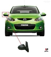 NEW FOR MAZDA 2 07 - 14 ELECTRIC HEATED DOOR WING MIRRORS PRIMED RIGHT O/S LHD
