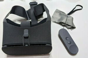 Google Daydream View 2nd Generation VR Headset - Charcoal Gray w/ remote