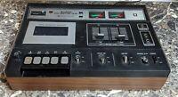 Sankyo STD-1410 Stereo Cassette Deck Vintage 1970's Tested