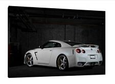 Nissan GTR 30x20 Inch Canvas - Framed Picture Print