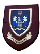 SO19 Firearms Unit  Police Service Wall Plaque Shield