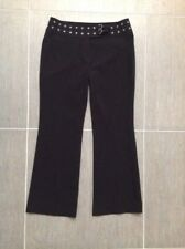 Esprit pants, black, eyelet detail, size 12, great condition