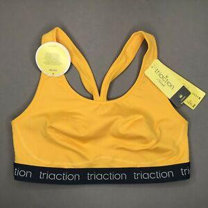 Triumph Triaction Sports Top N Damen Sport-BH ohne Bügel Gelb
