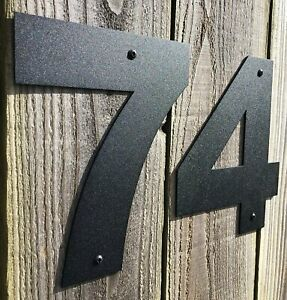 House Door Numbers Front Garden Plaques Address Sign Plate Name Flat Shop Home