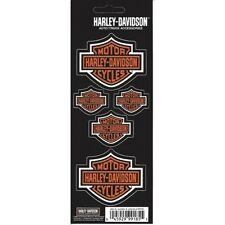 Harley-Davidson Bar and Shield Decals 5 Decal Set Officially Licensed