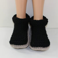 PRINTED KNITTING INSTRUCTIONS-ADULT SUPER CHUNKY CUFF BOOTS KNITTING PATTERN