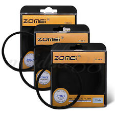 ZOMEI 72mm Star-Effect Starburst +4+6+8 Points Star Filter Set for Canon Nikon