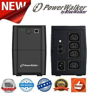 PowerWalker VI 850VA SH Series IEC UPS 480W Uninterruptible Power Supply