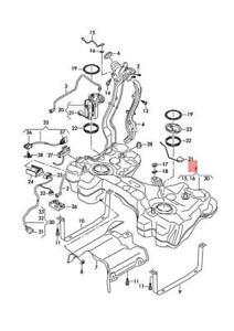 Genuine AUDI Audi TTRS Coupe Road. Roadster FV3 FV9 FVP Fuel Tank 8S0201060N
