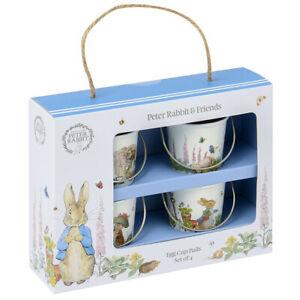 Beatrix Potter Peter Rabbit Egg Cup Pails (Set of 4)