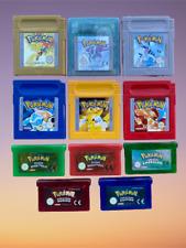 Pokemon ORIGINALE ITA game boy advance color ds smeraldo rosso fuoco blu giallo