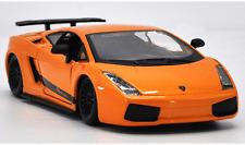 Bburago 1:24 Lamborghini Gallardo Superleggera Racing Car Diecast Model Yellow