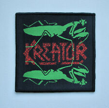 KREATOR [black] - Woven Patch / Sodom Destruction Morbid Saint Sadus Warbringer