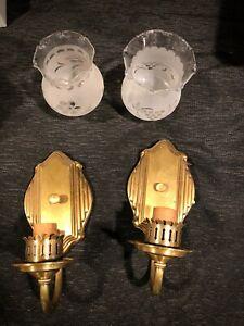 Art Deco Lights Wall Sconces Radiant Lighting Fixture Co Inc