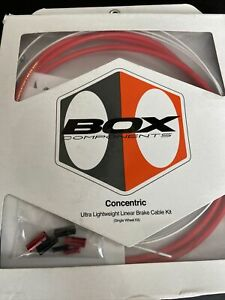 Box BMX Brake Cable - Red
