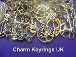 Charm Keyrings UK
