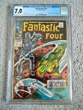 Fantastic Four # 74 CGC 7.0. Sharp, great looking book.