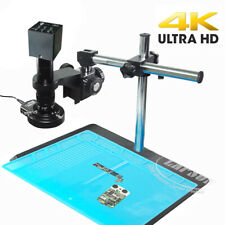 4k 1080p 60fps 180x 360x Hdmi C Mount Industry Microscope Set Camera Lens Stand