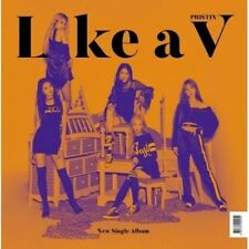 Pristin V - [Like A V] Unit Single Album CD+80p FotoBuch+2p FotoKarten+1p V Card