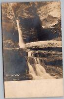 Liberty Falls (Cawood) NY ? PA Vintage RPPC Real Photo Postcard C4