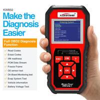 KONNWEI KW850 OBD2 Auto Diagnostic Scanner Code  Universal OBD Car Code Reader