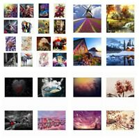 Lot Style 5D Diamond Painting Embroidery Cross Crafts Stitch Home Decor DIY Gift