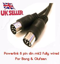 8 pin din mk2 POWERLINK Cable connect BeoLab speakers to Bang & Olufsen B&O 4MTS