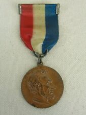"""Centennial Of Abraham Lincoln Bronze Medal With Ribbon """"VERY RARE"""""""