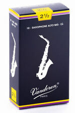 Vandoren Blatt alt Saxophon traditionell 2 1/2