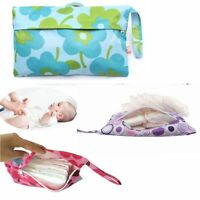 Baby Zipper Waterproof Reusable Dry Diaper Wet Bag Storage Pouch Tote Nappy