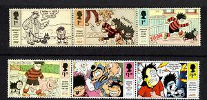 2021 GB Dennis & Gnasher Stamp Set MNH 01/07/21 +FREE CARRIER