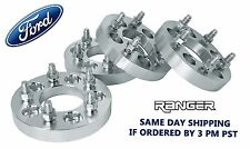 "FORD RANGER ALL YEARS WHEEL SPACERS 5x4.5"" 1 INCH THICK WITH 1/2"" LUG NUTS"