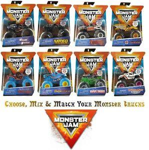 Monster Jam Series 9 10 11 12 13 15 16 - Choose from 65 Monster Trucks 10/6/2021