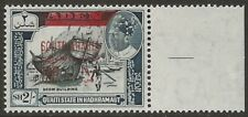 South Arabia Aden 1966 New Currency 100f on 2/ Surcharged in Red VF-NH