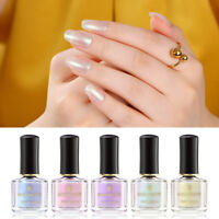 BORN PRETTY Pearl Shell Glimmer Nail Polish Glitter Shiny Nail Art Varnish