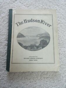 Hudson River Guide and Map (6 ft long), 1894, Prominent Landmarks / Residences